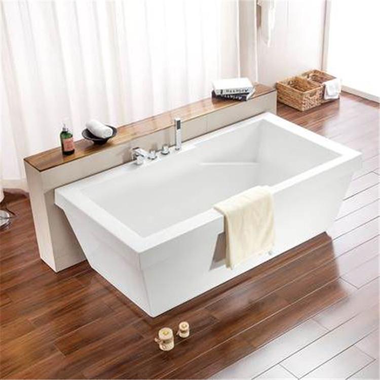 Rectangular Acrylic Bath Tub Cheap Freestanding Bathtub - Buy Cheap ...