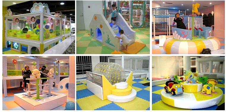 Low price kids indoor soft play portable playground for Indoor play structure prices