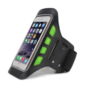 Alibaba Haissky neoprene cell phone sport armband accessories for 5.5inch phones led sports armband Free sample