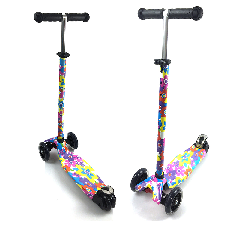 Color Customized PU Wheel Hot selling wholesale children's foot mini scooter