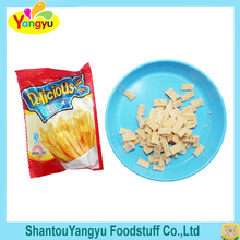 Semi-soft salty snack food fried Potato chips