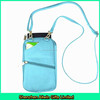 Custom design cell phone neck pouch/neck hanging pouch