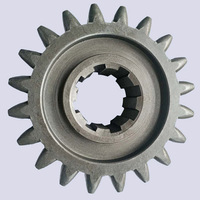 speed change output shaft drive gears for farm rotavator component spur gear