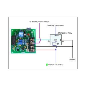 Split air conditioner inverter universal pcb board controller