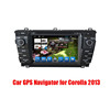 7'' 2 din Android Car GPS Navigator Radio DVD player for Toyota Corolla 2012 2013 with Touch Screen