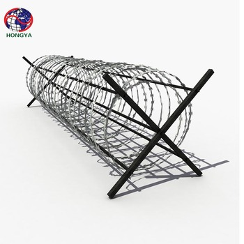 450mm/730mm/980mm Razor Wire/Galvanized Razor Barbed Wire
