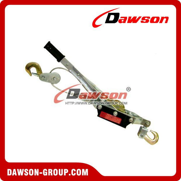 CE GS approved Manufacturing 2T general purpose puller with double gear double hook