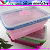 Silicone lunch container/picnic bowls/modern office container