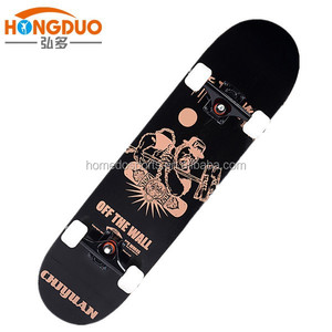 7 ply 100% canadian maple skateboard