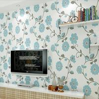 Syene Non woven wall paper of 3d flowers wallpaper for Living room bedroom TV wall mural wedding room home decor