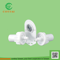 roller blind center support bearing steel mount bracket