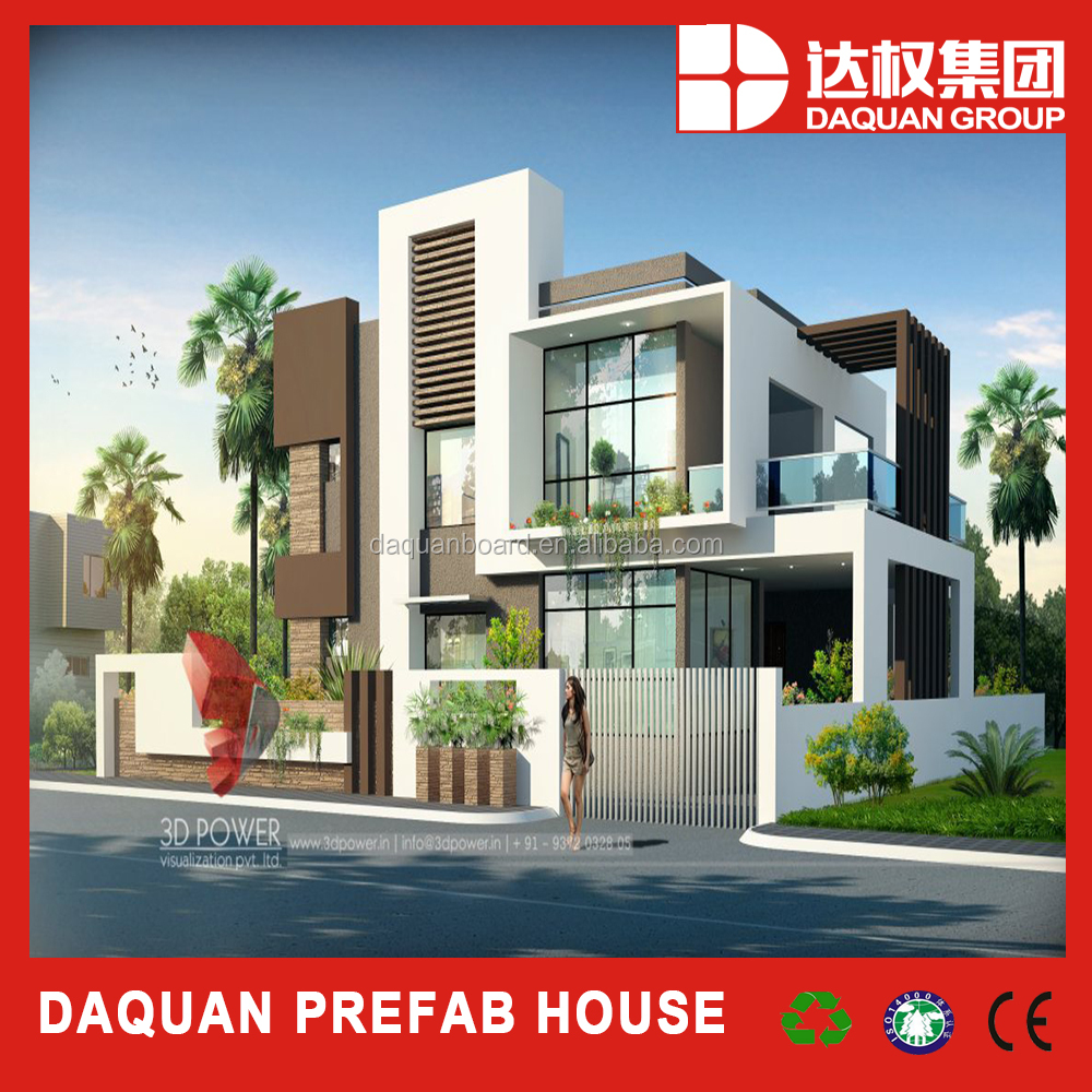 New product 3d architectural design villa model , beautiful house model