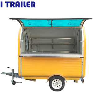 2018 french chips insulated food car for catering