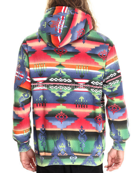Wholesale Aztec Print Mens Pullover 100 Polyester Hoodie - Buy 100 ...