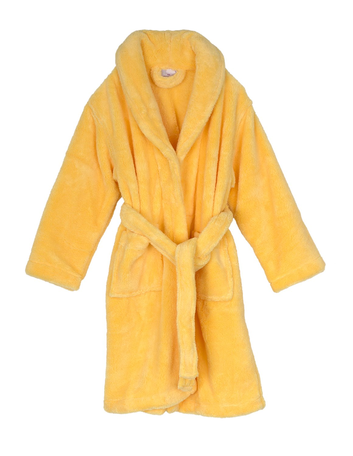 Made in Turkey Kids Plush Shawl Fleece Bathrobe TowelSelections Boys Robe