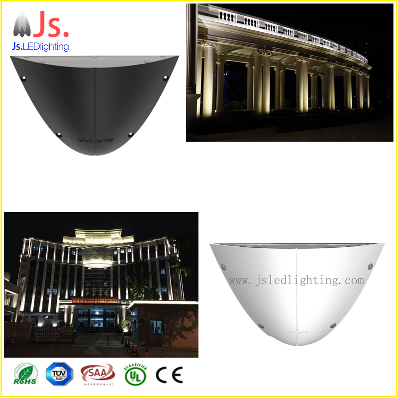 white and gray color 1 degree 70m distance led ligh projector