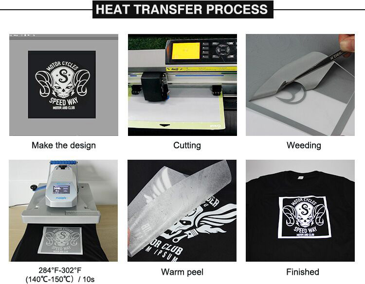 Alibaba wholesale high lightest sticker reflective heat transfer film for clothing