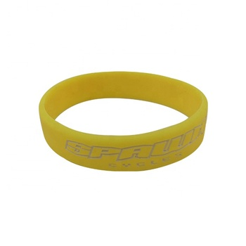 Popular Beautiful Logo Debossed Silicone Wristband