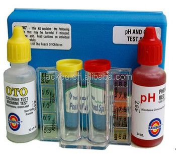 Cheap and good swimming pool ph test kit pool equipment for Good cheap pools