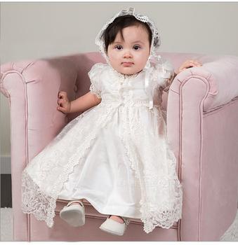 652881e1d ZH74B High Quality princess flower fairy beautiful baptism Church baby girl  chrisom dress
