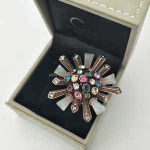 big flower ring chunky costume ring statement ring jewelry