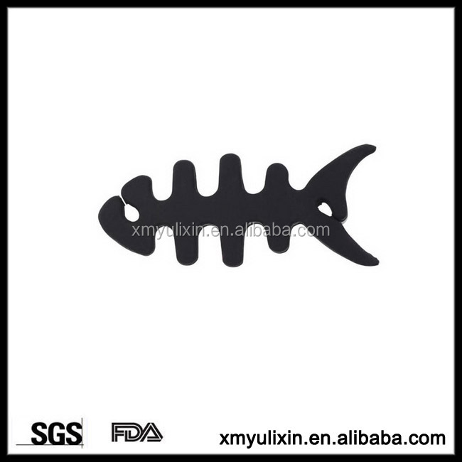 BPA free silicone fish cable winder