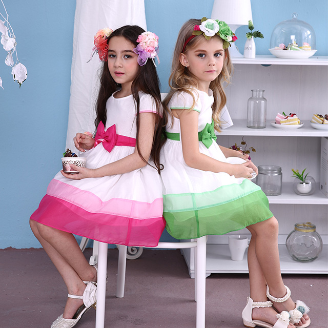 f7a54538d قوانغتشو ملابس الأطفال، صورتان شخصيتان بالألوان 2015 جديد ثوب طفل، ملابس  الأطفال للفتيات