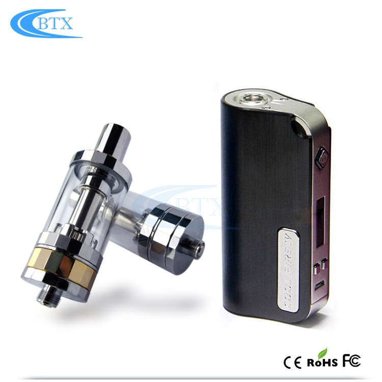 Fashion design e cigarette VIP tank atomizer 50w box mod tank