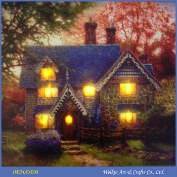 Christmas Led Canvas.Led Modern Canvas Painting Nature Wall Art Canvas Print Light Up Led Canvas Painting Christmas House Paintings With Lights Buy Light Up Led Canvas