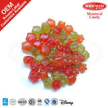 63% Juice Star Shape Pectin Gummy Candy