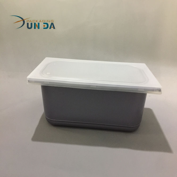 New Product Custom Disposable Plastic Ice Cream Tub