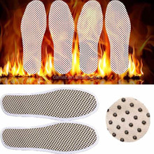 Self heated healthcare massage insole with far infrared stone