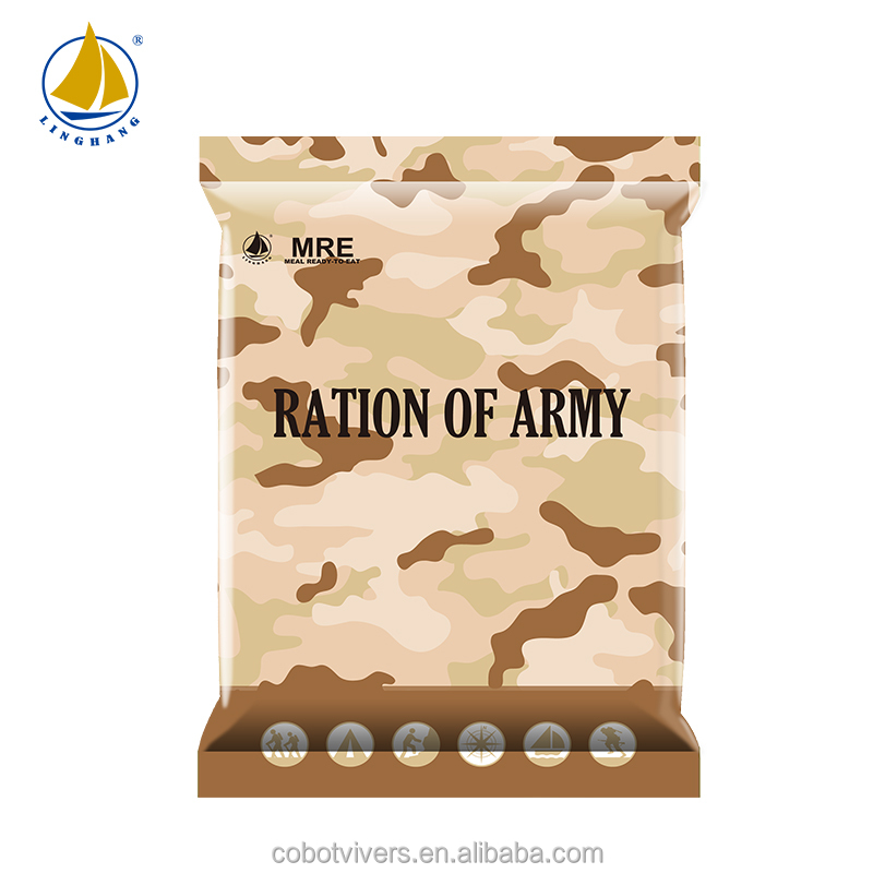 Qty 40 x 300g MRE CHICKEN /& LENTILS Ready to Eat Military meals