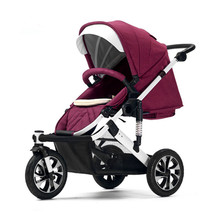 Luxus baby <span class=keywords><strong>jogger</strong></span> <span class=keywords><strong>kinderwagen</strong></span> 3 rad baby pram