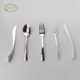 Chinese professional custom wedding flatware silver plated italian korean restaurant disposable plastic cutlery set