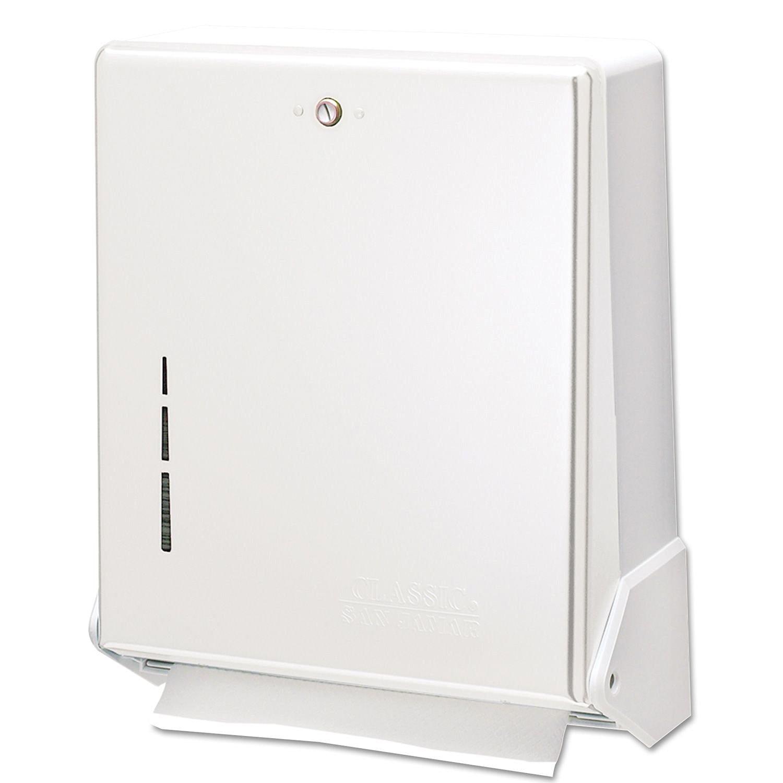 San Jamar True-Fold, C-Fold, & Multi-Fold Towel Dispenser