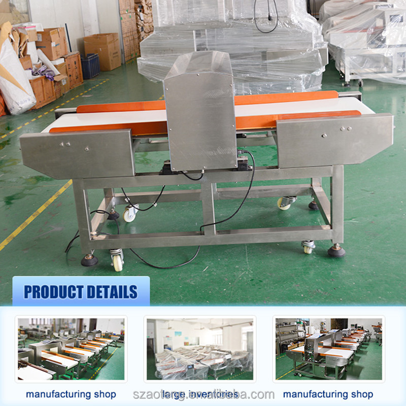 Conveyor belt detector machine,food metal detector for industrial metal detector / Model No:AT-J500G