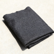 The lowest price short fiber polyester black 100gsm nonwoven geotextile price