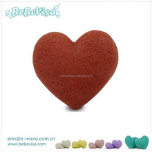 Professional manufacture 100% Natural Activated Deep cleaning Konjac Sponge