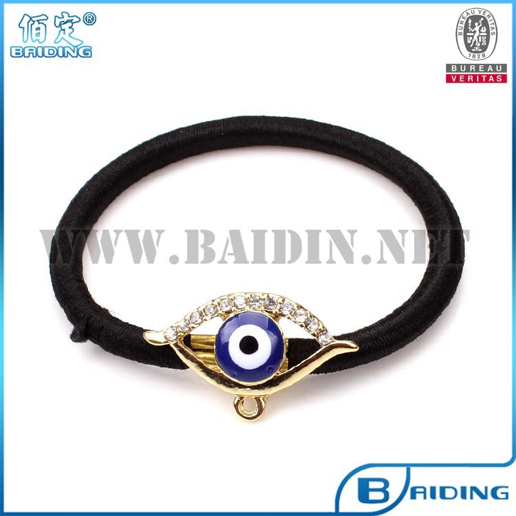 wholesale blue evi eye hair accessory making supplies