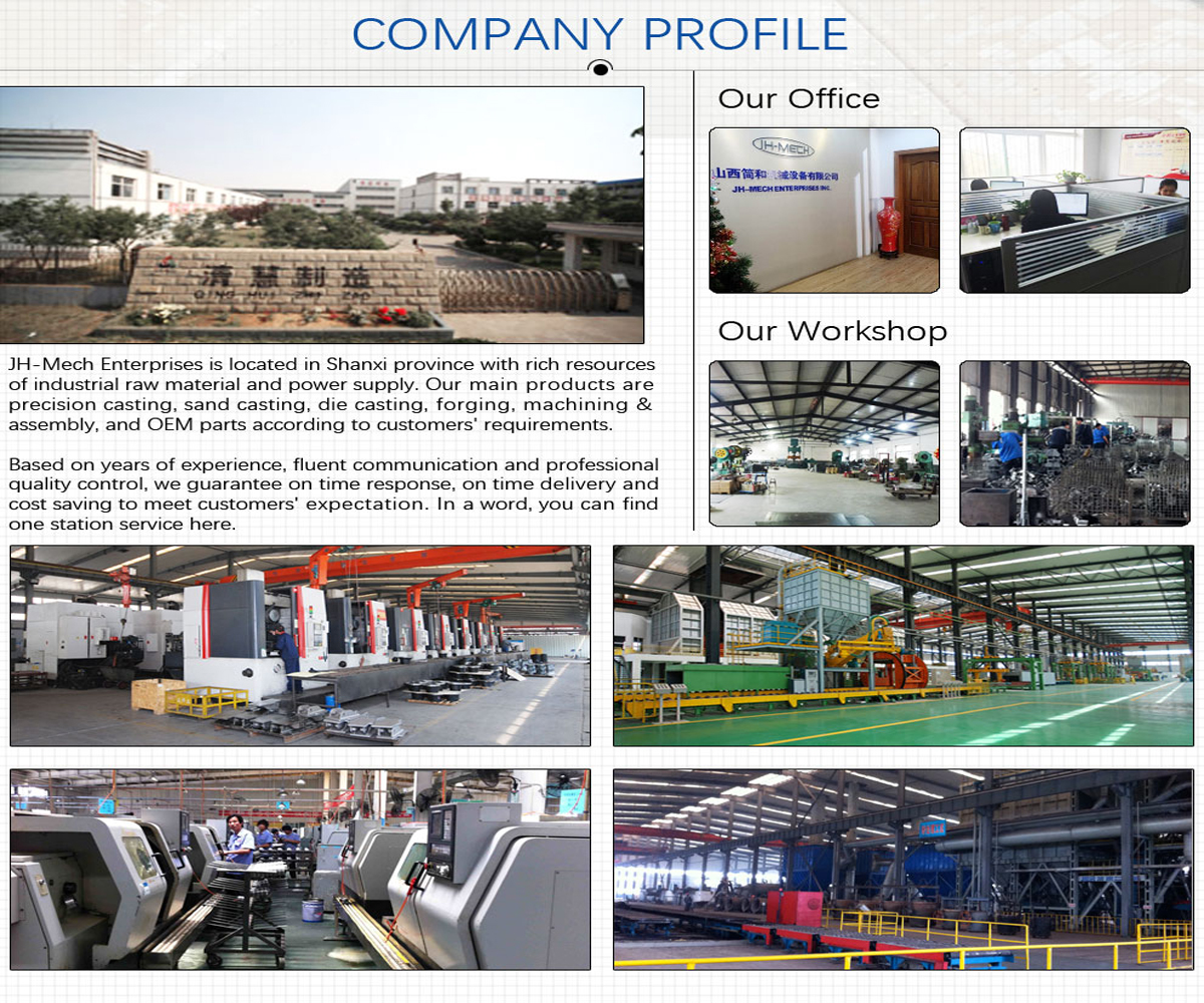 JH-Mech Enterprises Inc. - Precision Casting, Metal Stamping Parts