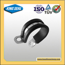 Vacuum Hose Pipe ,Rubber coated hose clamp