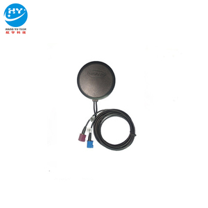 Round Type GSM GPS combo antenna Fakra Blue Purple Connector