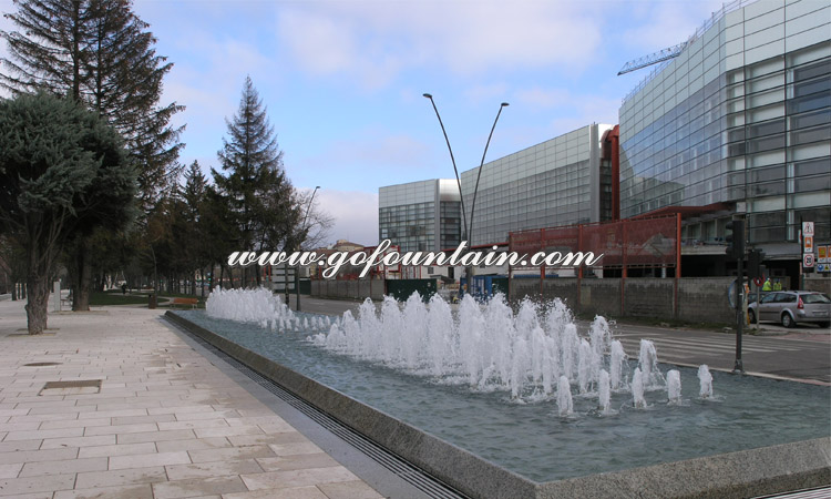 Chinese customized large outdoor dancing water feature fountain with lighting