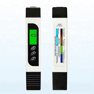 Pocket Pen Type Water Quality TDS EC Conductivity Tester Meter with Backlight LCD Monitor