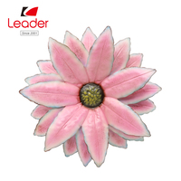 New-design Metal wall art with Flower for metal flower wall decoration