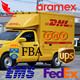 china cheapest express rates TNT/EMS/DHL/FEDEX /FBA to Cuba