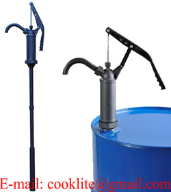 R-490S PPS/Ryton Lever Hand Drum Pump for Oils, Corrosive and Evaporating Chemicals
