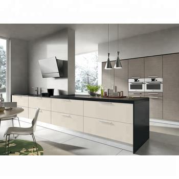 Neue Modell Luxus Projekt Möbel Küche Schrank Mit Insel Tischlerei ...