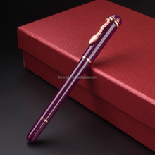 Stationery Promotion MONTE MOUNT Luxury Metal Fountain Pen with F Nib High Quality Ink Pens for Gift
